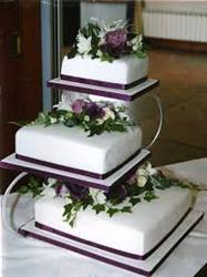 The Silverstand 3 tier Cake