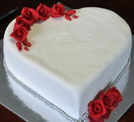 Fancy Heart shape cake