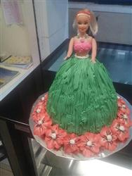 Summer Barbie cake